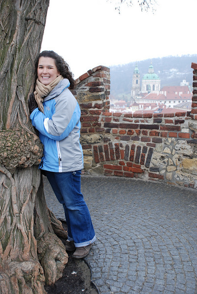 Anna and Prague Skyline 4