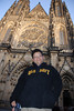 Tony and Prague Castle Cathedral 1