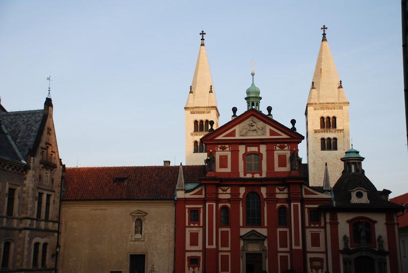 Prague Castle Buildings 3