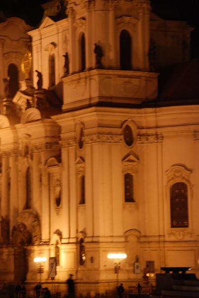 Prague Old Town At Night 11