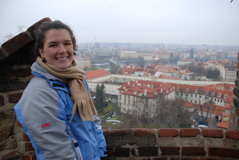 Anna and Prague Skyline 5
