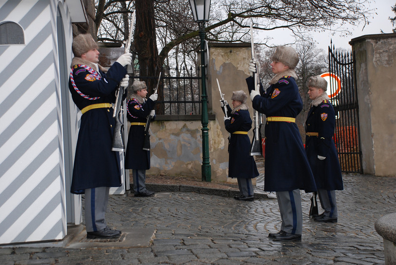 Changing of the Guards Prague 4