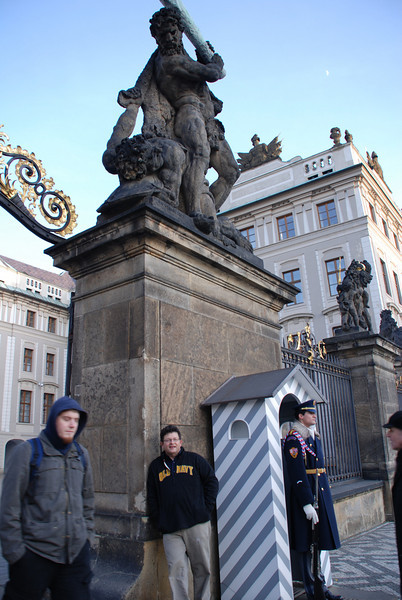 Tony at Prague Castle 4