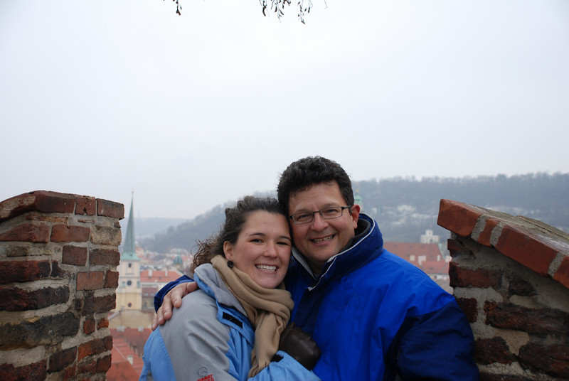 Anna and Tony in Prague