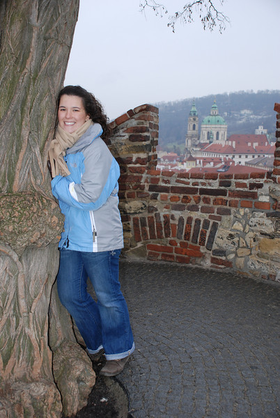 Anna and Prague Skyline 3