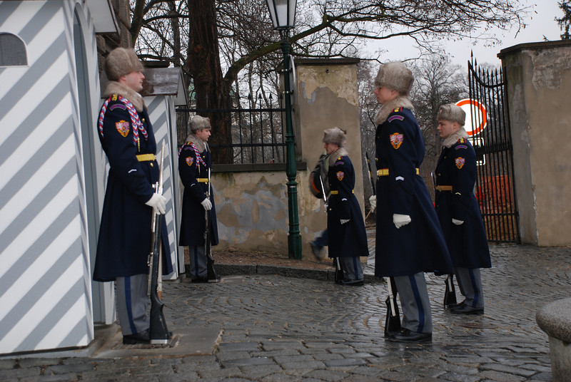 Changing of the Guards Prague 5