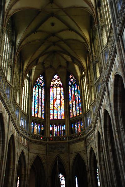 Inside Prague Castle Cathedral 4