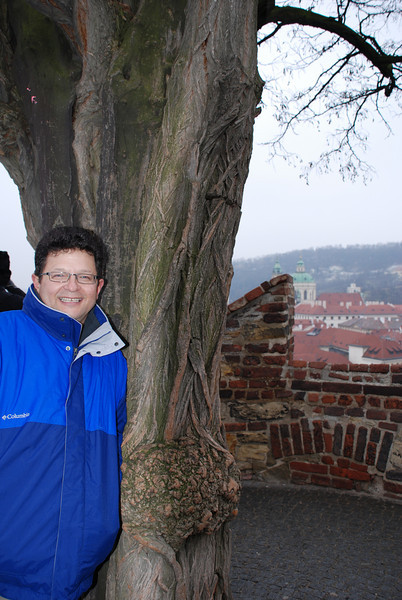Tony and Prague Skyline 1