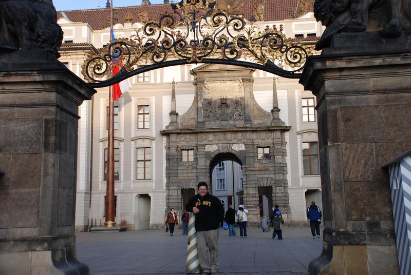 Tony at Prague Castle 2