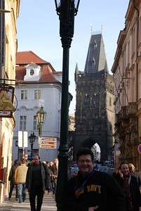 Tony By a Prague Tower 4