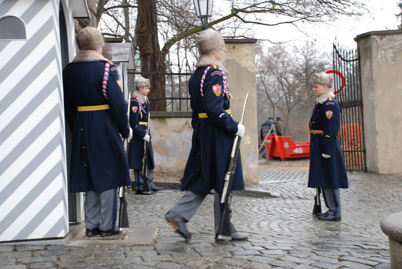 Changing of the Guards Prague 1