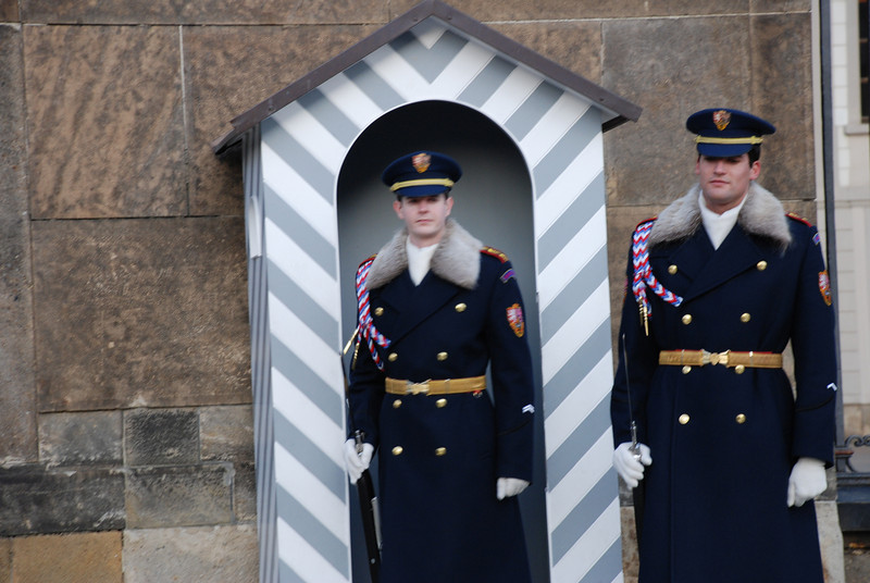 Changing of the Guards Prague 15