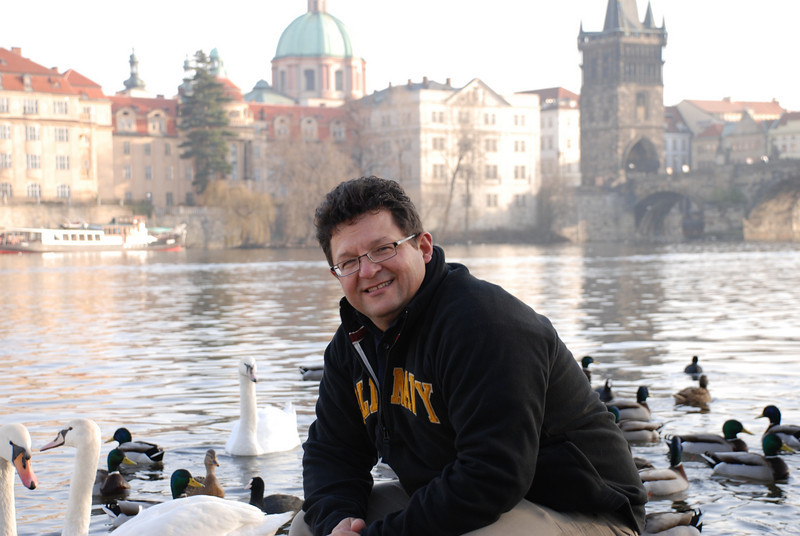 Tony and Prague Swans 12