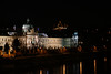 Prague Night Scene Near Water 14