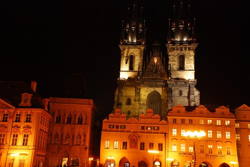 Prague Old Town At Night 6