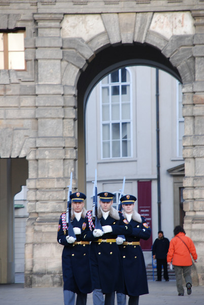 Changing of the Guards Prague 8