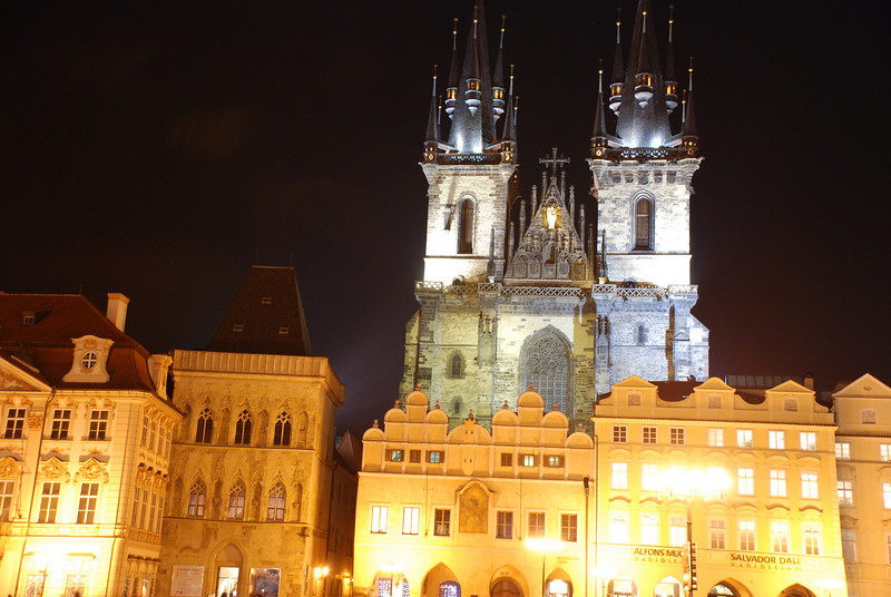 Prague Old Town At Night 5