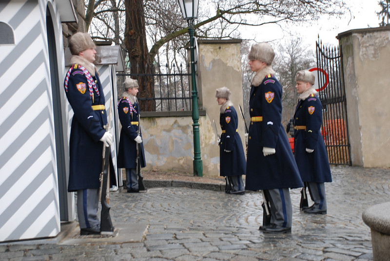 Changing of the Guards Prague 2
