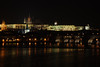 Prague Night Scene Near Water 29