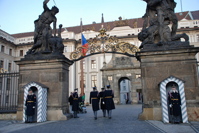 Changing of the Guards Prague 18