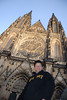 Tony and Prague Castle Cathedral 3