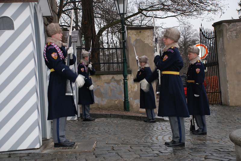 Changing of the Guards Prague 3