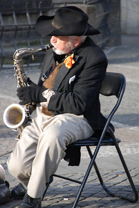 Great Old Town Prague Musician 6