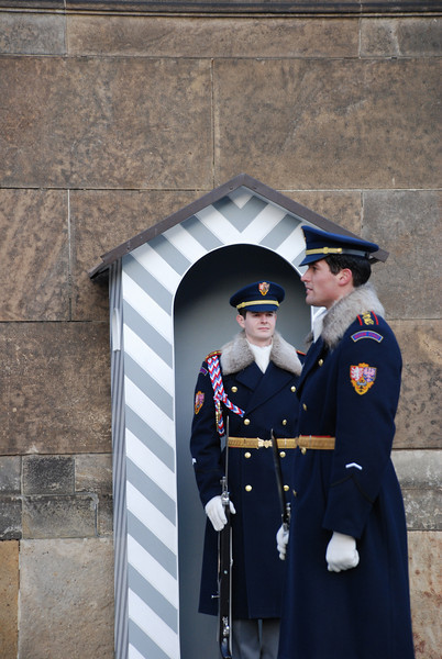 Changing of the Guards Prague 17
