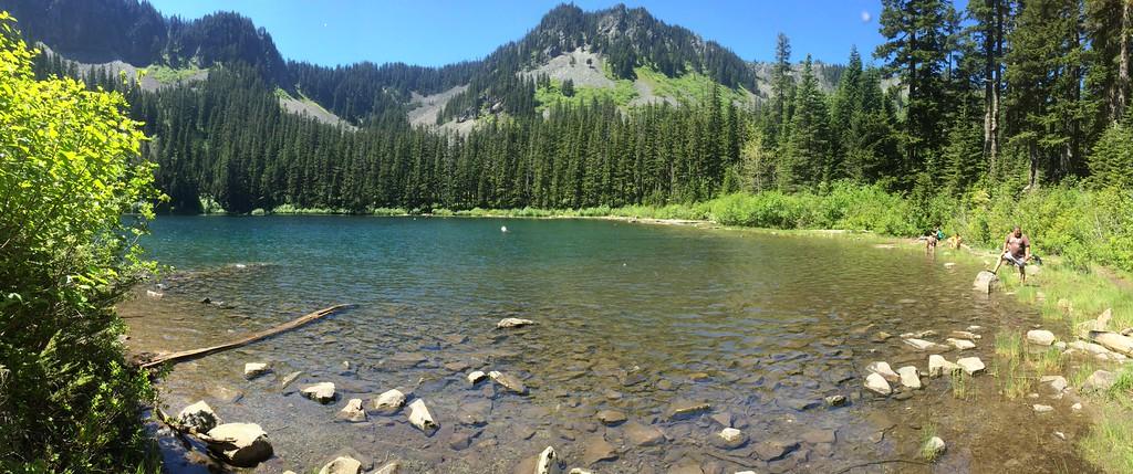 Panoramic at Annette Lake