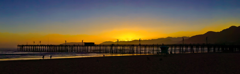 Pismo Beach Pier Sunset