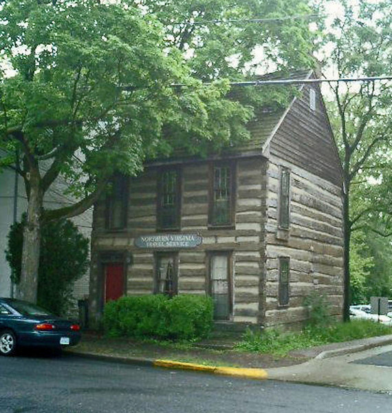 Old house in Winchester, Virginia.