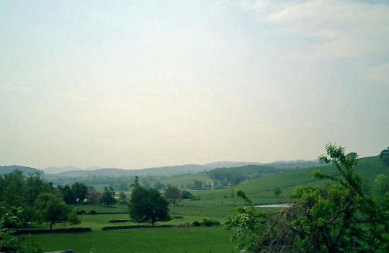 Virginia countryside.