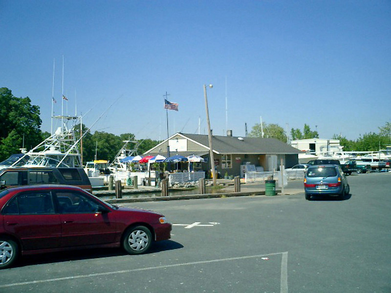 The Easton Point Marina.
