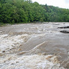 The rapids on the Youghiogheny River at Ohiopyle, Pennsylvannia.