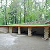 The carport at the Kentuck Knob house.