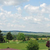 The western Pennsylvania countryside from Nemacolin Resort.
