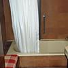 Mr. Kaufmann's bath with seating (cork tile walls).