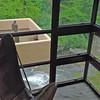 The corner windows in Mr. Kaufmann's bedroom/study.
