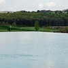 The infinity edge pool at Falling Rock, Nemacolin Resort.