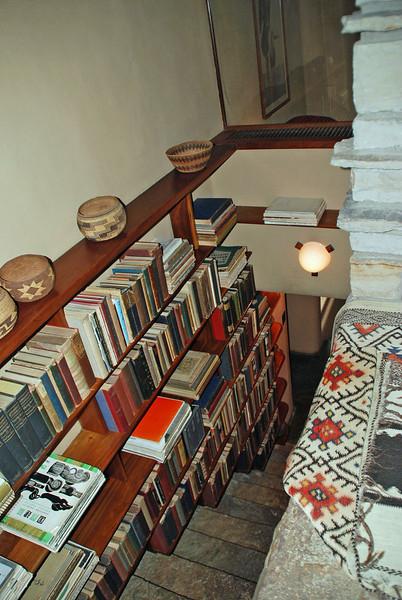 Stairwell from Junior's bedroom to floor below.