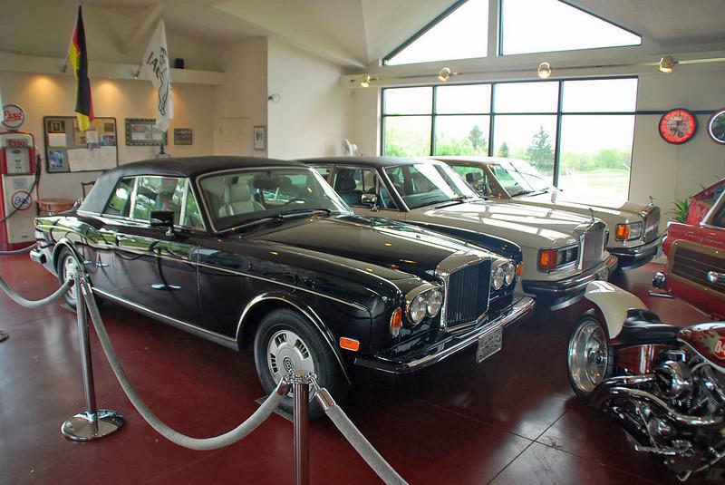 Automobile display at Nemacolin Resort.