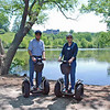 Ray and Jean on the segway tour on the Biltmore Estate.