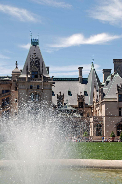 The Biltmore House.
