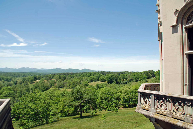 A view from the Biltmore House.
