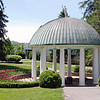The origin of the White Sulfur Spring is in this gazebo.
