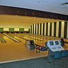 The bowling alley at the Greenbrier.