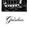 The Greenbrier President's Cottage Museum brochure (page 1 of 3).