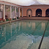 The indoor pool at the Greenbrier.