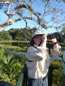 "Panama  February 2014 with Sue MacCallum ""Marty birding"""