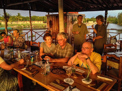 """Cuba July 2014 with Dave Larson and Bill Gette """"Dining at the Tiki, Bay of Pigs"""""""